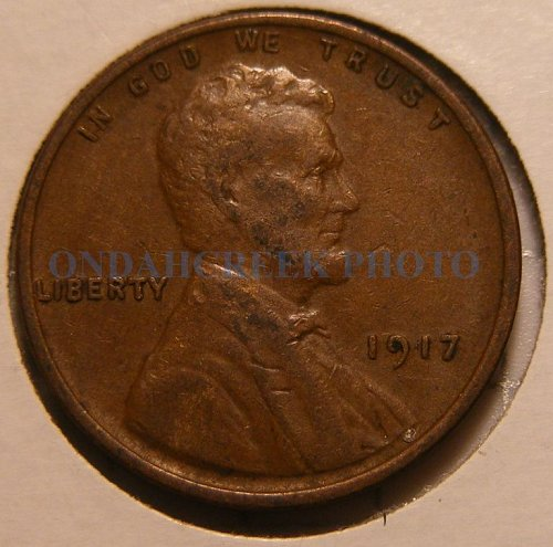 1917 Lincoln Cent VF