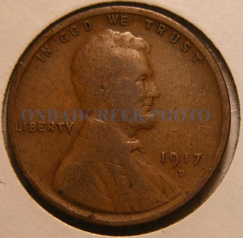 1917-D Lincoln Cent Good