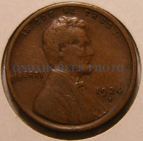 1924-S Lincoln Cent VF