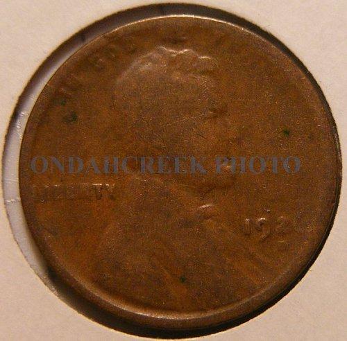 1926-D Lincoln Cent AG