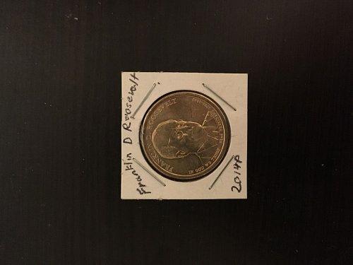 2014 P Franklin D Roosevelt Dollar Coin