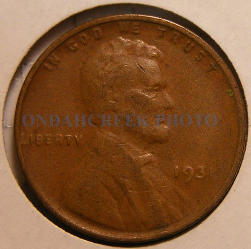 1931 Lincoln Cent VG