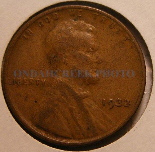 1932 Lincoln Cent Fine