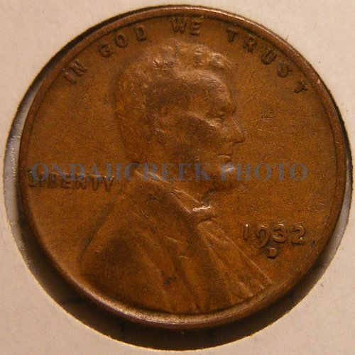 1932-D Lincoln Cent VG