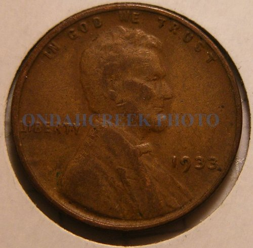 1933 Lincoln Cent VG