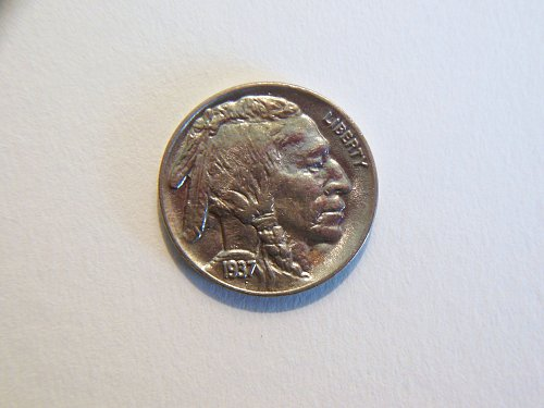 1937-P Buffalo Nickel