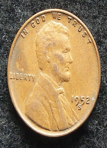 1952 S Lincoln Wheat Cent (VF-35)