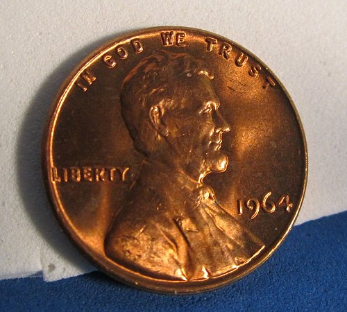 1964 MEM CENT (POSSIBLE DDO) SEE PHOTOS TO DECIDE YOURSELF