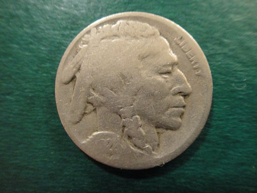 1926-S Buffalo Nickel Good-4 Textbook Example For Grade!