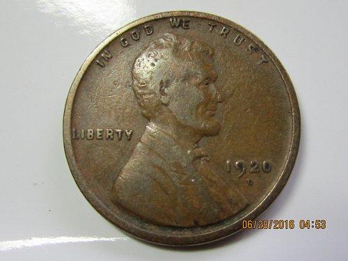 1920 D WHEAT PENNY