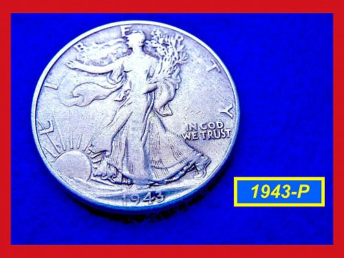 1943-P  Liberty Walking Half Dollar –––  (#1205)