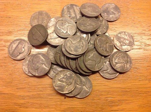 (1) 1942-1945,  35% Silver war nickel from my stash.