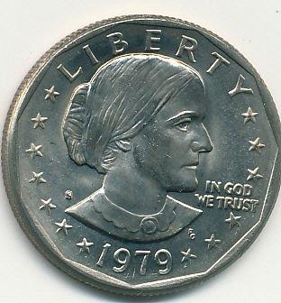 1979S Susan B. Anthony dollar