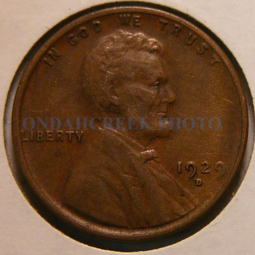 1929-D Lincoln Cent VF