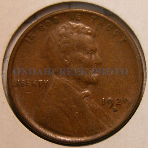 1929-D Lincoln Cent XF