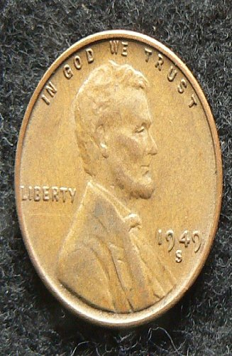 1949 S Lincoln Wheat Cent (VF-35)