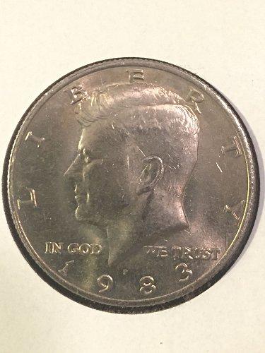 1983-P Kennedy Half Dollar