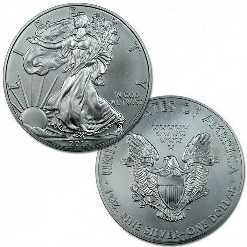 2015 american eagle (5 more left)silver