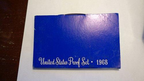 1968 S PROOF SET