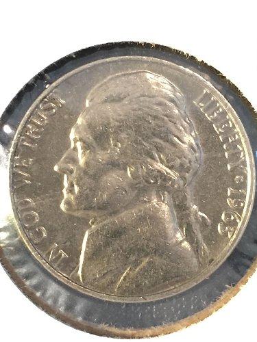 1963 P Jefferson Nickel