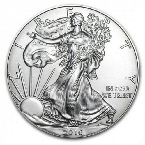 2016 silver eagle....are here..silver is going up