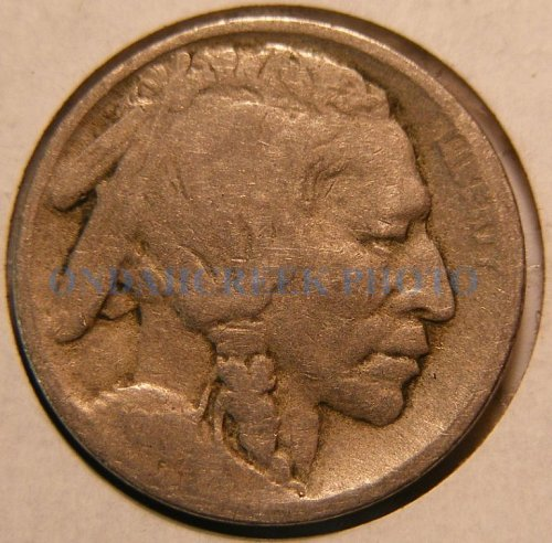 1913 Type 1 Buffalo Nickel Good