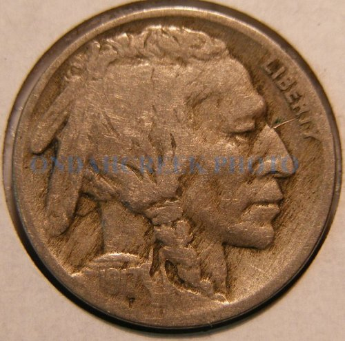 1917 Buffalo Nickel VG