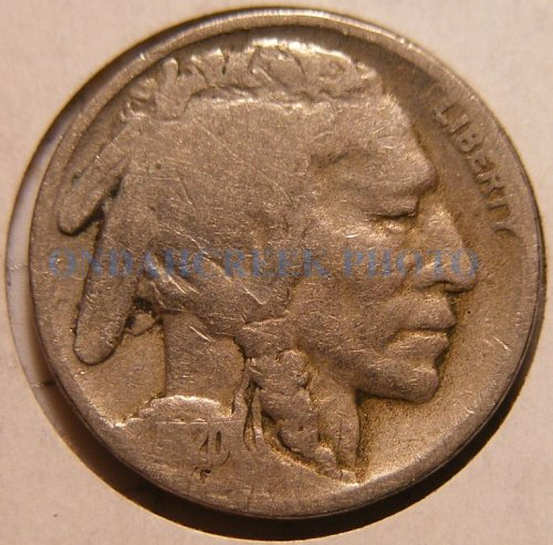 1920-S Buffalo Nickel VG