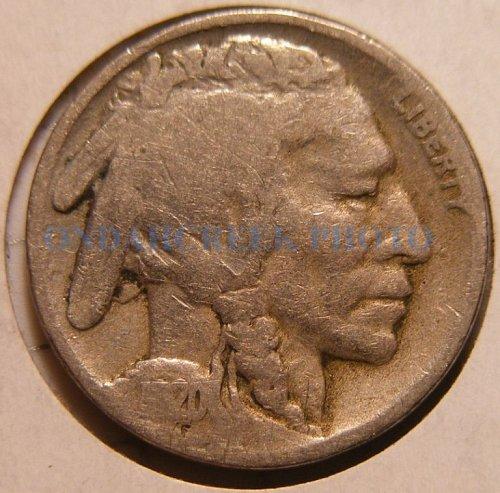 1920-S Buffalo Nickel VG