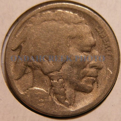 1923-S Buffalo Nickel Good