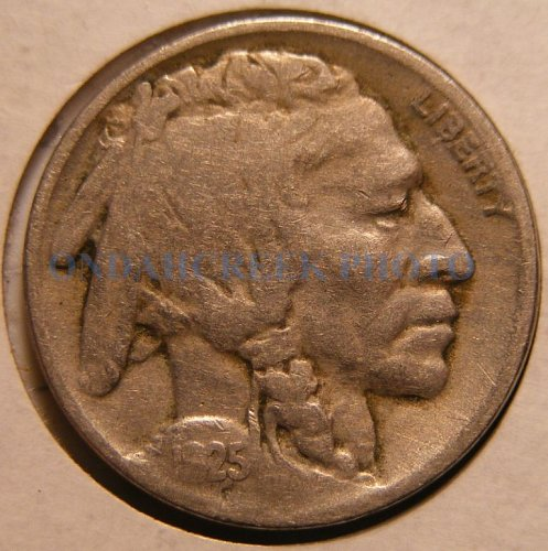 1925 Buffalo Nickel VG