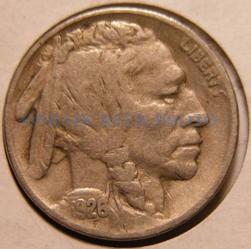 1926 Buffalo Nickel Fine