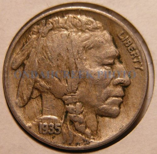 1935 Buffalo Nickel Fine