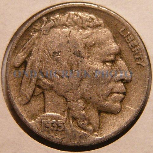 1935-D Buffalo Nickel Fine