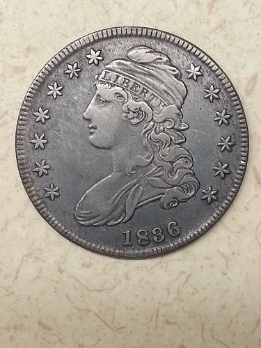 1836 Capped Bust Half