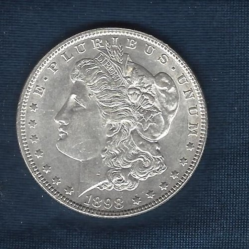 1898  Silver Morgan Dollar #2