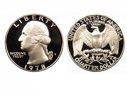 1978 S Proof Washington Quarter