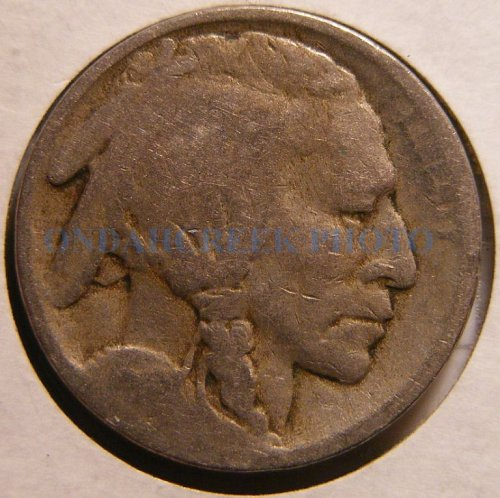 1913 Type 1 Buffalo Nickel Good
