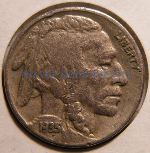 1935-S Buffalo Nickel Fine