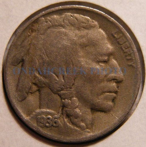 1936-D Buffalo Nickel Fine
