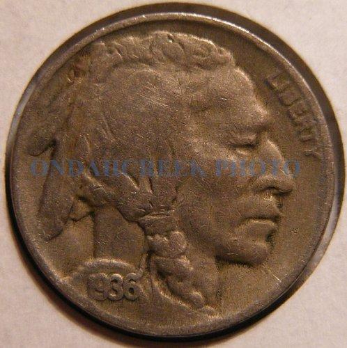 1936-D Buffalo Nickel Fine