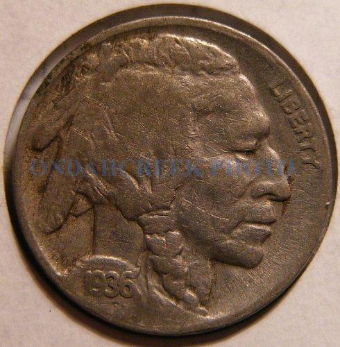 1936-S Buffalo Nickel Fine