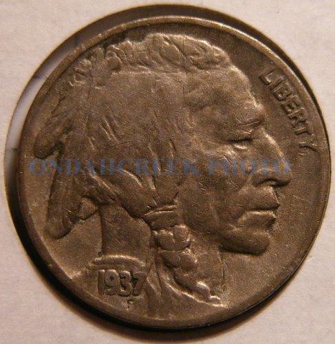 1937-D Buffalo Nickel Fine