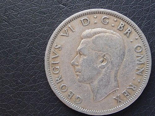 Great Britain   1949     Half Crown