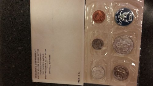 Special 1965 silver uncirculated mint set