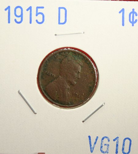 1915 D Lincoln Cent