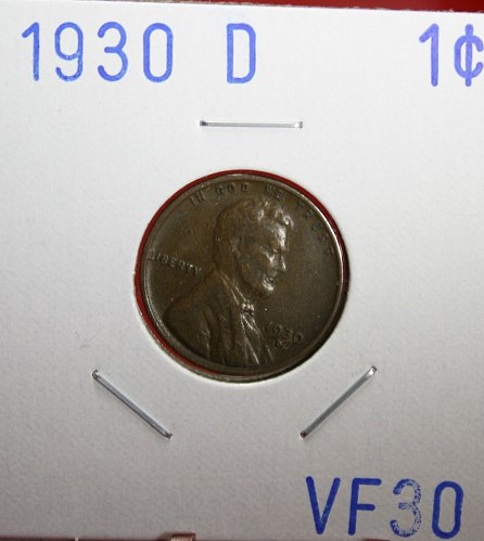 1930 D Lincoln Cent