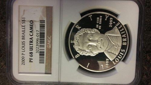 price Reduction Ngc pf68 ultra cameo Rare Silver Dollar