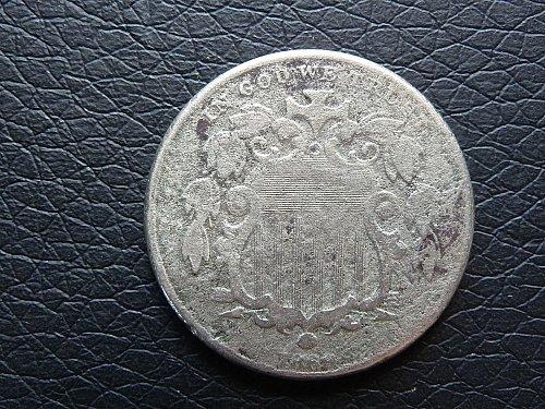 1869  Shield Nickel