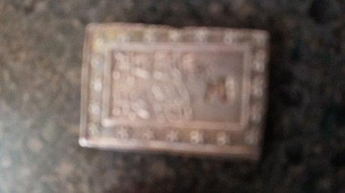 1837 Japanese Rare 8.66 grams 0.991 Silver 1  Bu gin tenpo